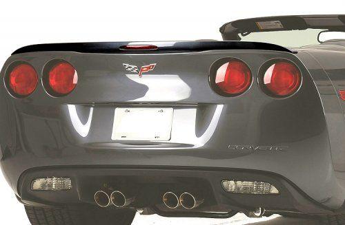 C6 Corvette Painted Rear Spoiler Gm Racing Style Corvette Corvette Accessories Jaguar Xk
