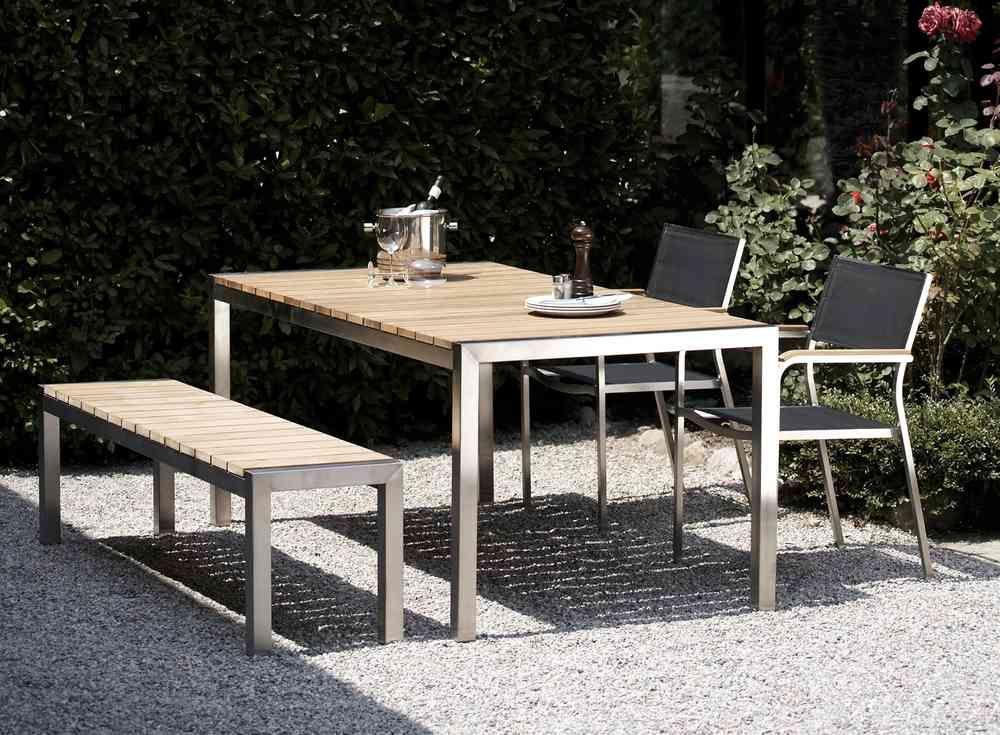 Jan Kurtz Luxury Teak Gartentisch Mit Bildern Teak Outdoor