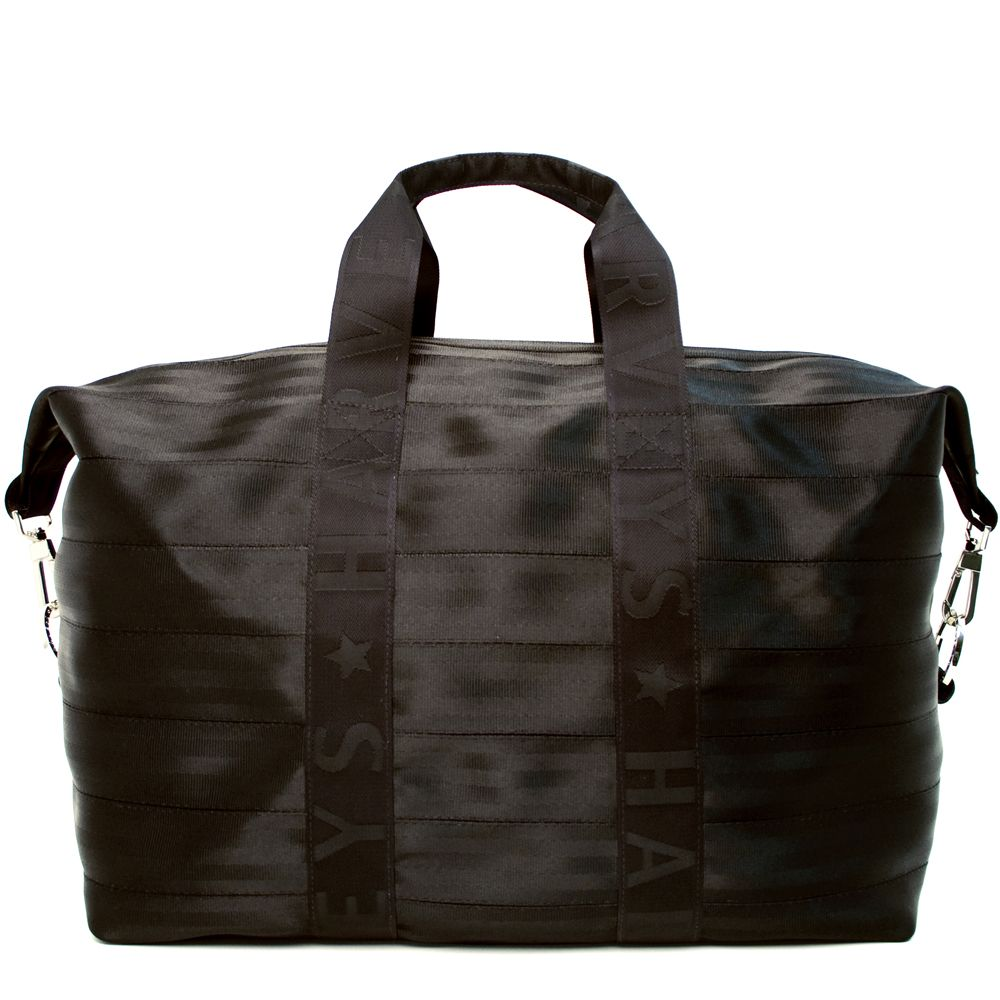 Harveys Seatbelt Bag Weekender (Black) Handbags Nmrf95T9