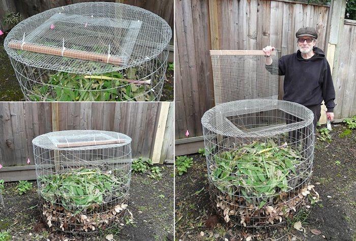 auf diese weise kann jeder von uns einen komposter selber bauen - wasserfall selber bauen