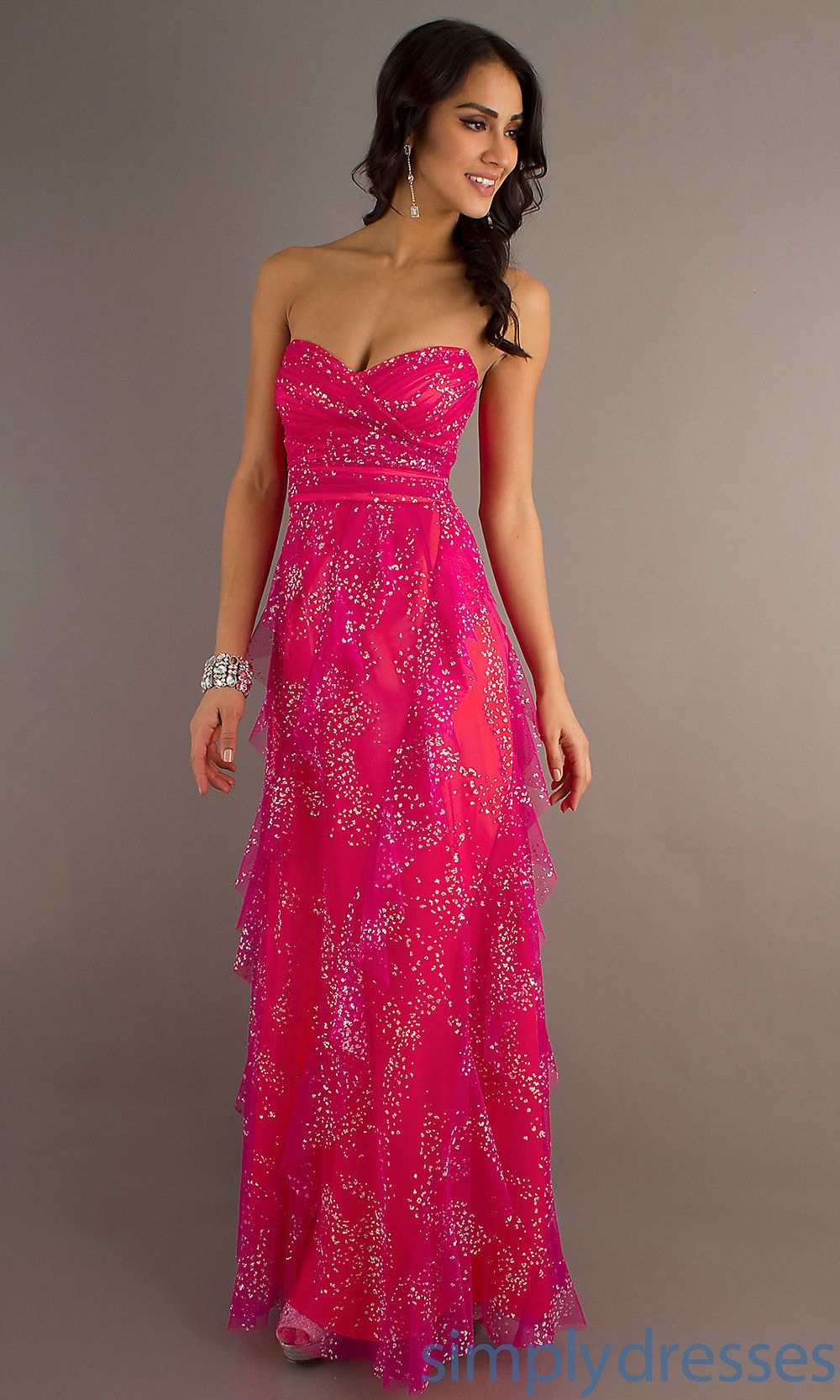 Show off your taste in our aline strapless dress pretty things
