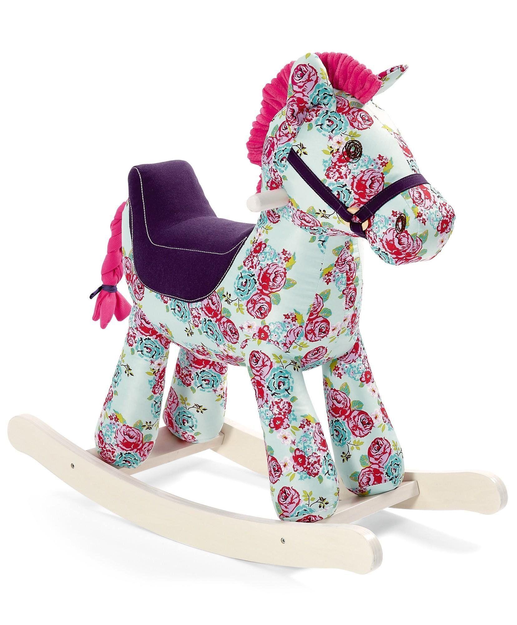 Mamas Papas Blossom Rocking Horse Toy Amazon Co Uk