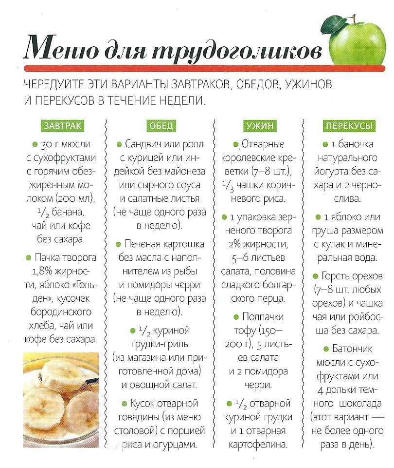 Диета 16 рецепты блюд на каждый день