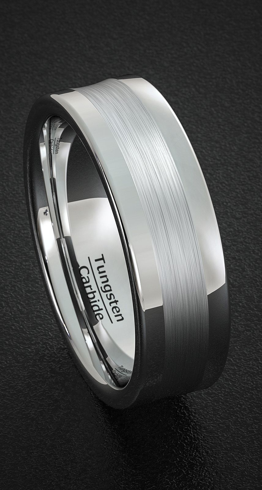 tungsten ring förlovning