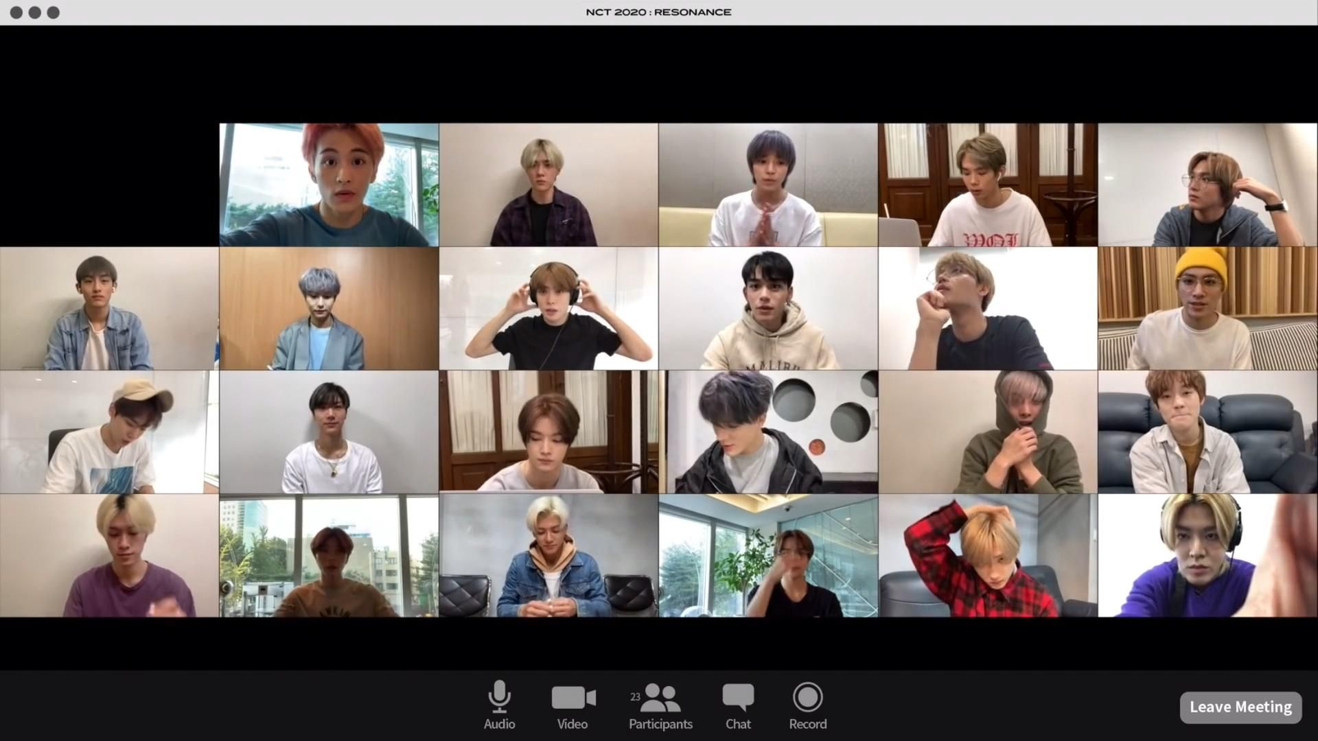 Video If My Online Classes Look Like This I Never Skip Or Sleep A Class Nct 127 Nct Ide Kencan