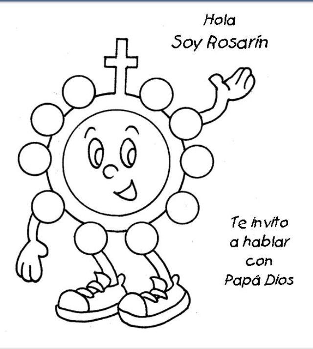 Página para colorear - Tomado de Infancia Misionera | Infancia ...