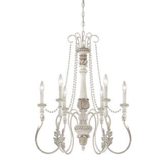 view the jeremiah lighting zoe single tier 6 light candle style chandelier 25 inches