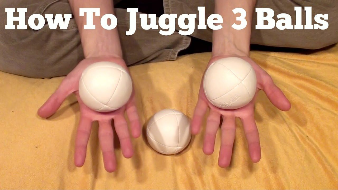 My Favorite How To Juggle Three Balls Building Up To The Cascade In 2021 How To Juggle Juggling Ball