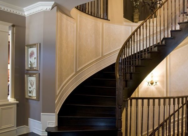 Flexible Mouldings Flexible molding Staircase design