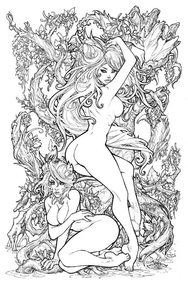 naughty coloring pages free pdf - Google Search | Adult Coloring ...
