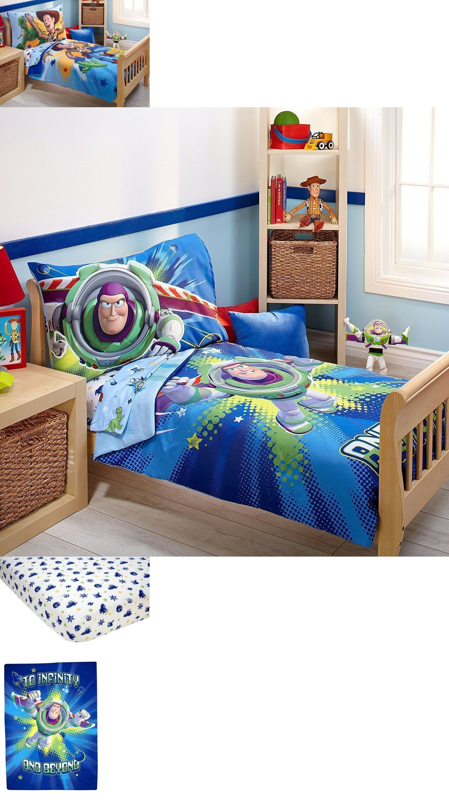 Toy story toddler bedding - Kids At Home Disney Pixar Toy Story Power Up 4 Piece Toddler Reversible