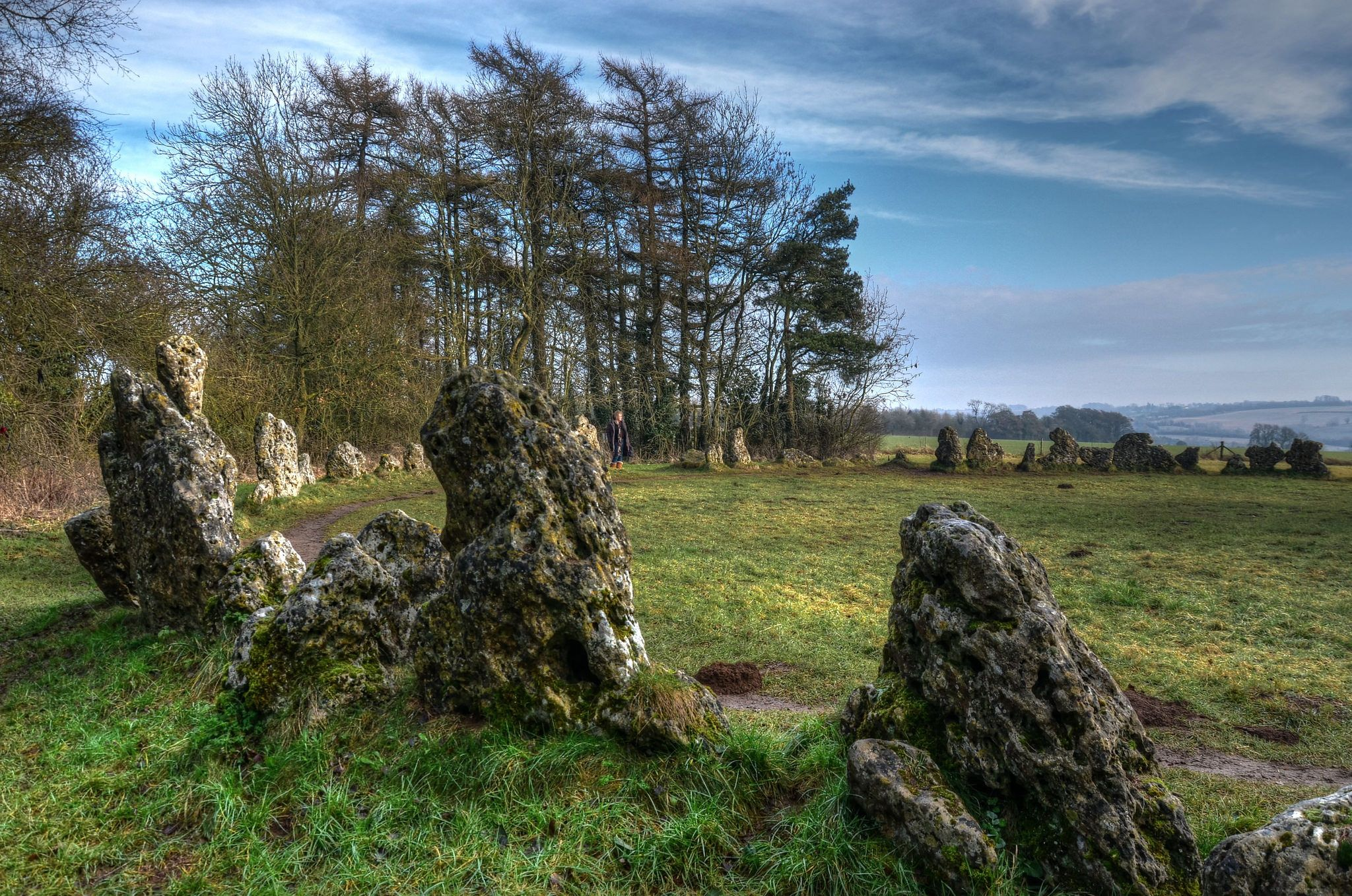 The Rollright Stones (Stone circle) | Rollright Stones ... |Rollright Stones Oxfordshire