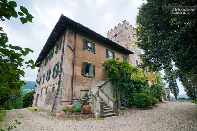 Tuscany Medieval Watchtower Near Florence In Bagno A Ripoli 196