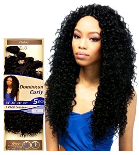 Outre Batik DUO Dominican Curly Bundle Weave Hair 5Pcs