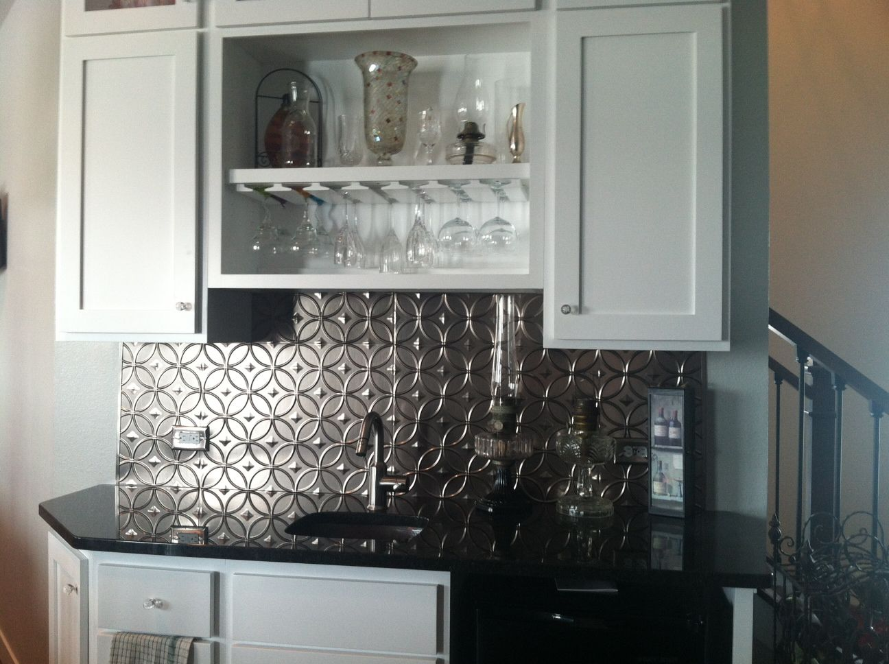 - Chris Chose The Rings Style Fasade Backsplash Panels To Bring