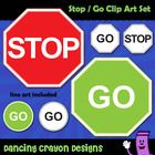 Free Clip Art Stop Sign And Go Sign Clip Art Clip Art Freebies Free Clip Art