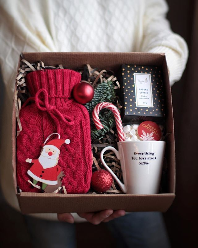 Photo of #coffee #Christmas #Christmas gift # hot water bottle – Christmas // inspiration