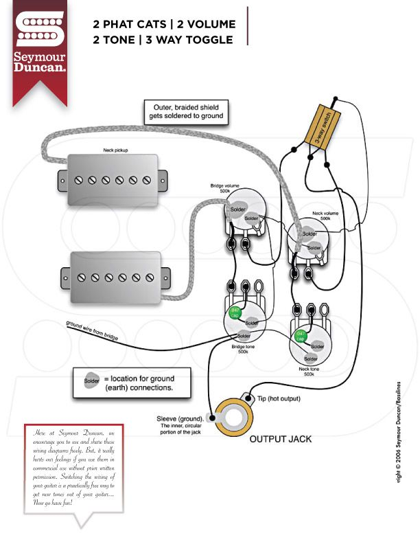 Wiring Diagrams Guitar Pickups Learn Guitar Luthier Guitar
