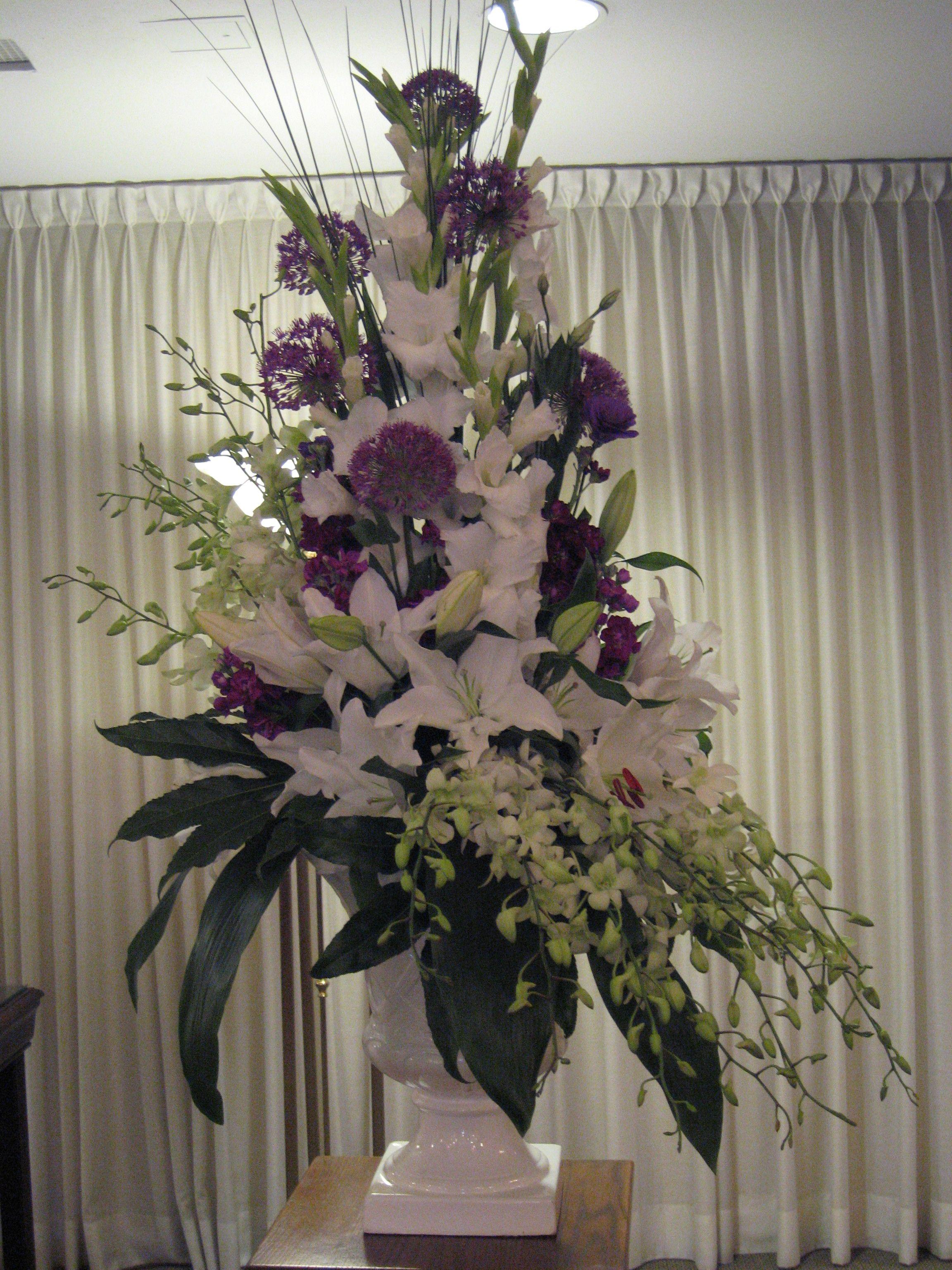 Flowers by Antonella sympathy arrangement Large flower