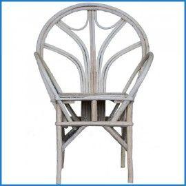 Prachtige Rotan stoel voor buiten en binnen. Handgemaakt in Marrokko