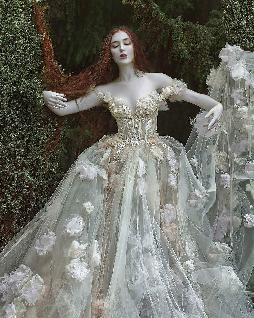Image result for fantasy wedding dresses