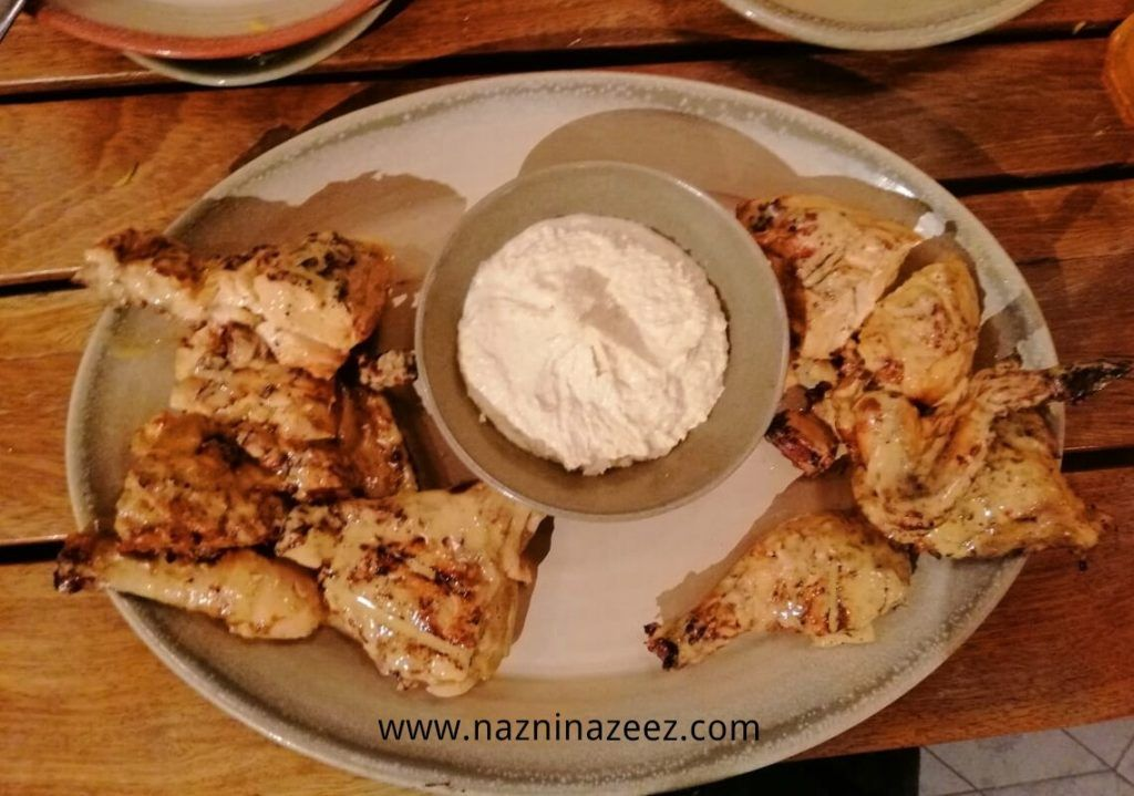 Review Iftar At Nando S Jumeirah With Images Iftar Meal