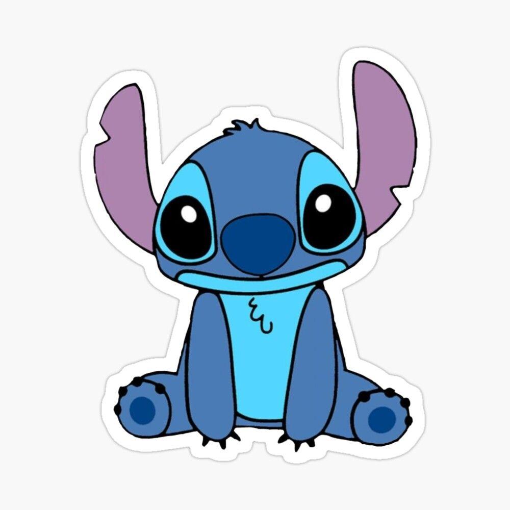 Cute Lilo Stitch Drawing Sticker By Ananyaz04 In 2021 Stitch Drawing Cute Stitch Lilo And Stitch