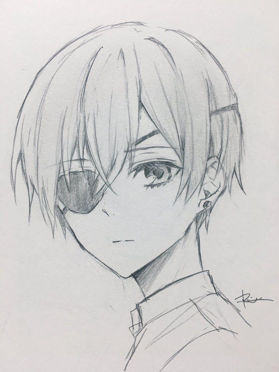 りつ???? on Dibujos manga a lapiz, Dibujos terroríficos