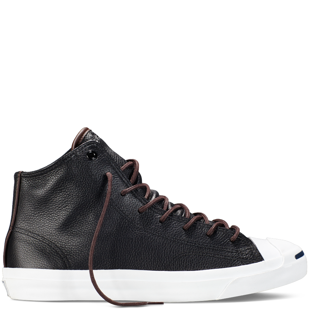 4ead889b09d4 Converse - Jack Purcell Tumbled Leather -Sand Dune - High Top