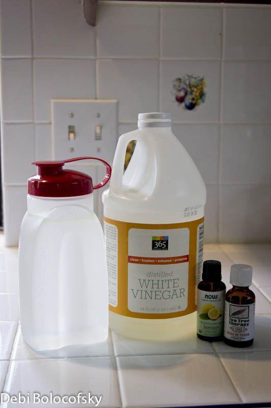 Homemade Wood Floor Cleaner 1 Cup Vinegar 3 Cups Water 10 Drops Tea