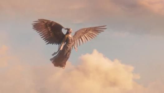 Angelina Jolie Flies In Maleficent Movie Clip In The