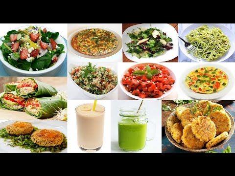 Recetas de cenas faciles rapidas con pocas calorias sanas y super ricas youtube cocina - Ideas cenas saludables ...