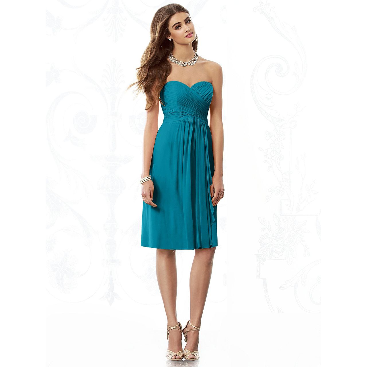 Fashionably yours acacia bridesmaid dress by after six from dessy