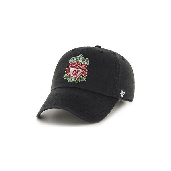 5e9a42e4c08 47 Brand EPL Liverpool FC Clean Up Cap - Black Cap (403.470 IDR ...