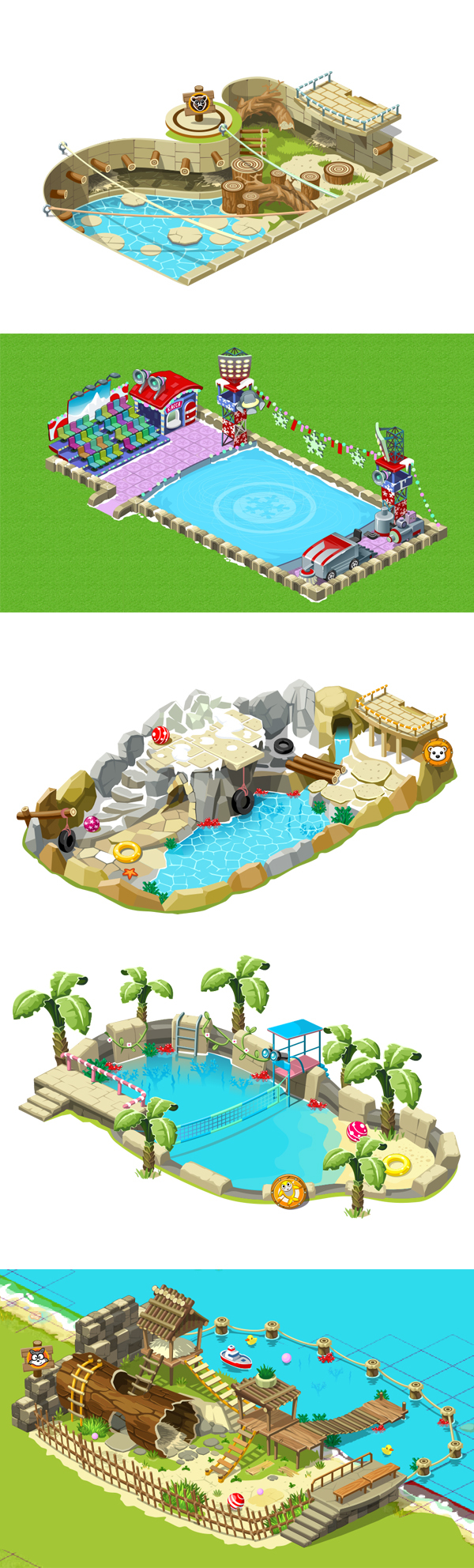 Homes for animals on Behance