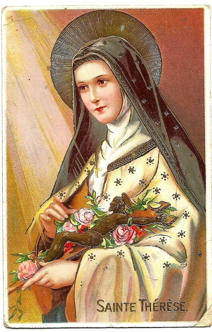 Pin by Nelia on Saint Therese of Lisieux/Santa Teresa do