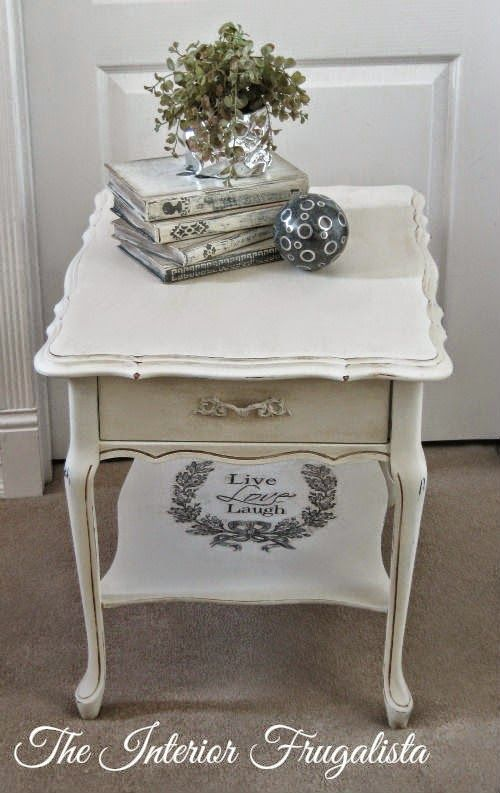Genial Kroehler French Provincial Side Table Makeovers | The Interior .