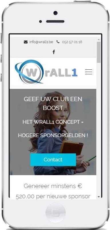 Het ervaren #sponsorteam van #wrall1 zoeken #inkomsten voor uw #vereniging.