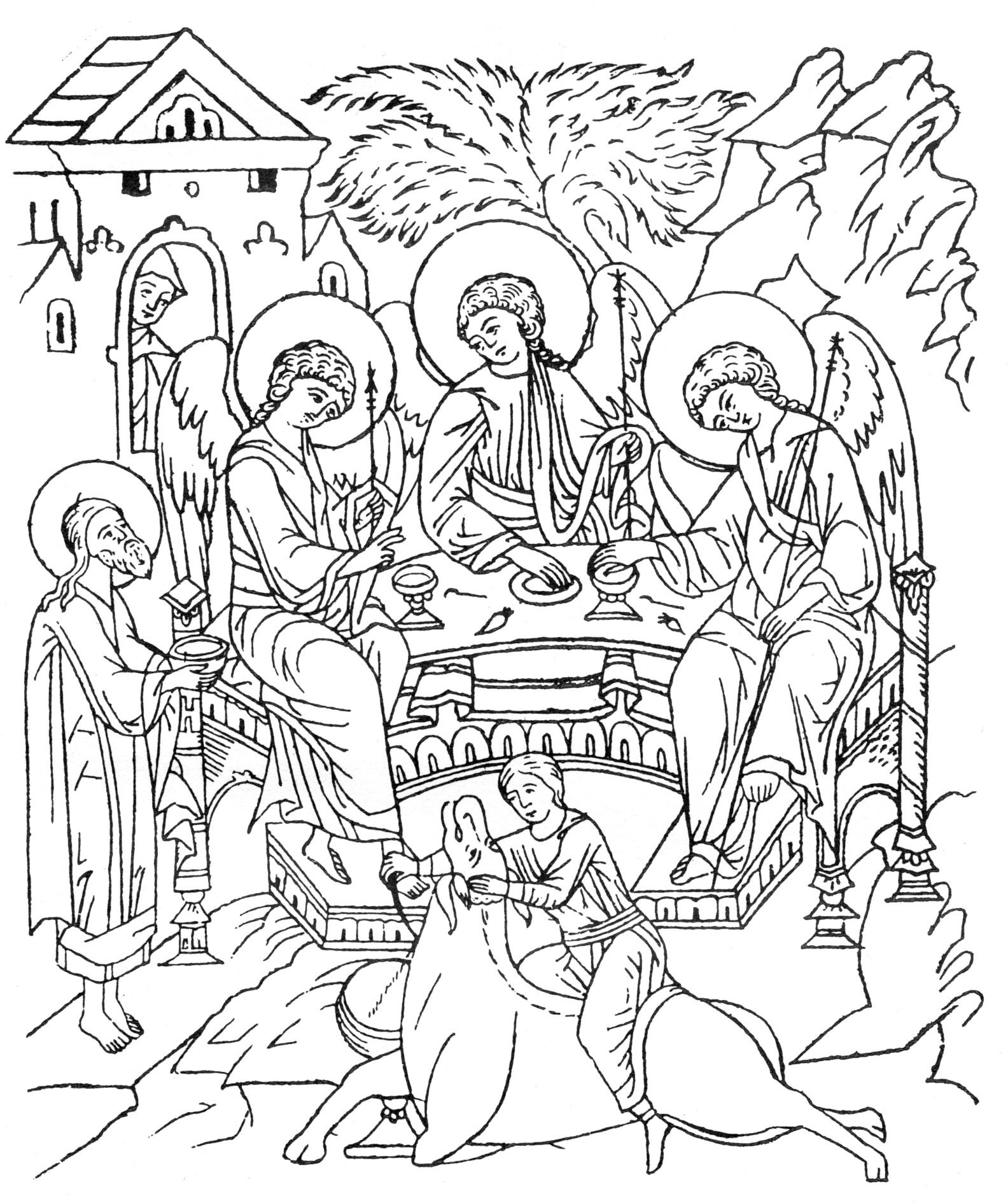 the portfolio quot tracing icons quot icoon tekenen christus