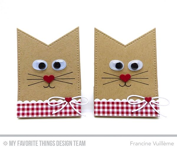 1001 cartes: My Favorite Things – Sweet cats