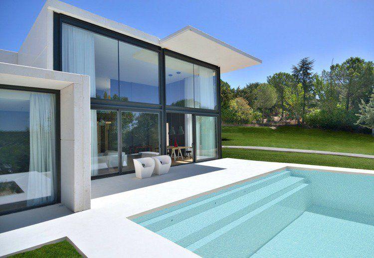 Aménagement jardin avec piscine: 75 idées pour s\'inspirer   Design