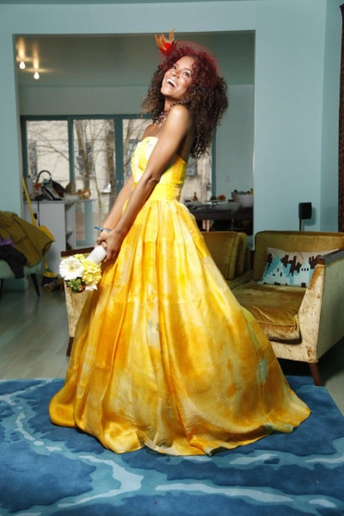 The woman behind this beautiful gown, couture bridal gown designer ...