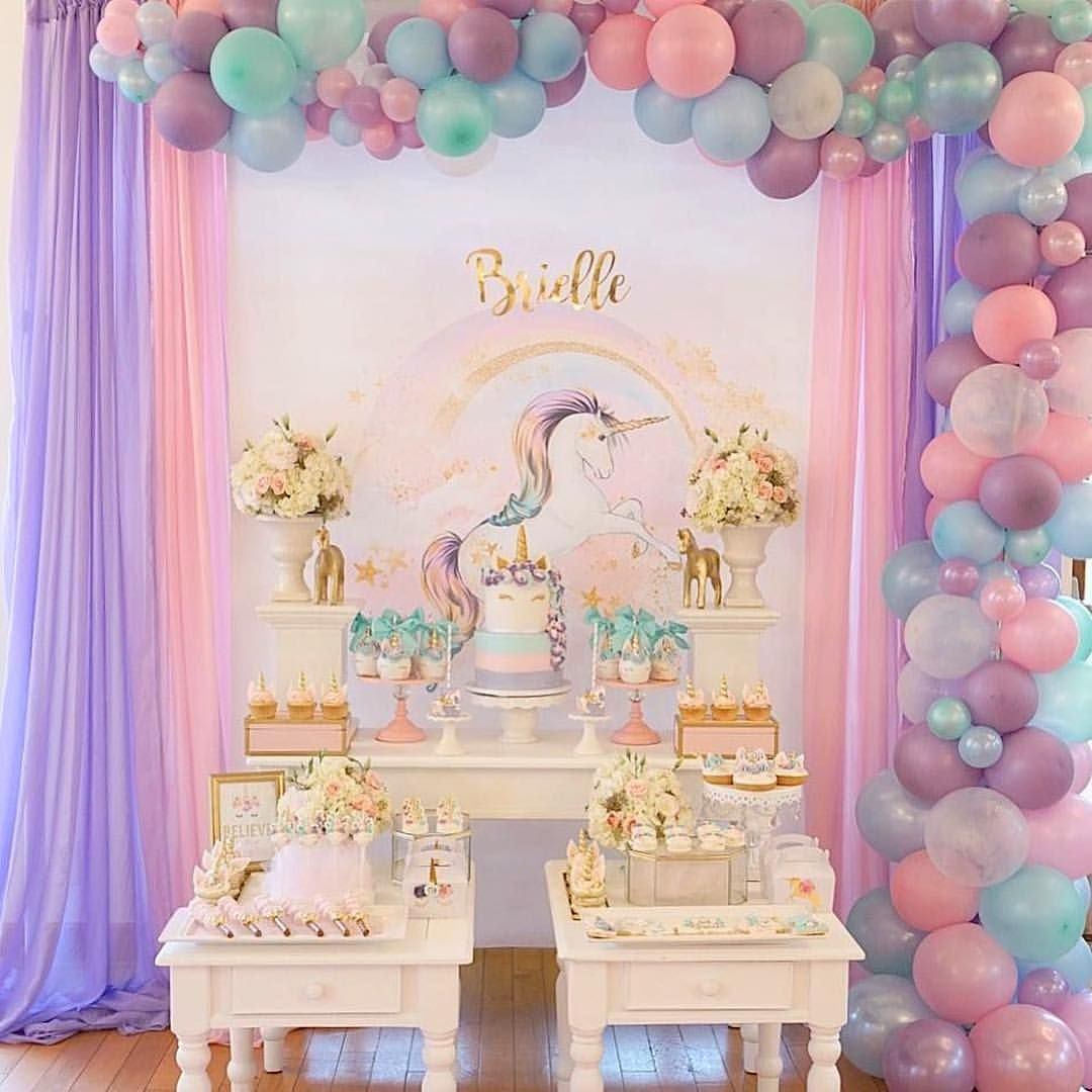 Beautiful balloon backdrop Balloon backdrop, Girl baby