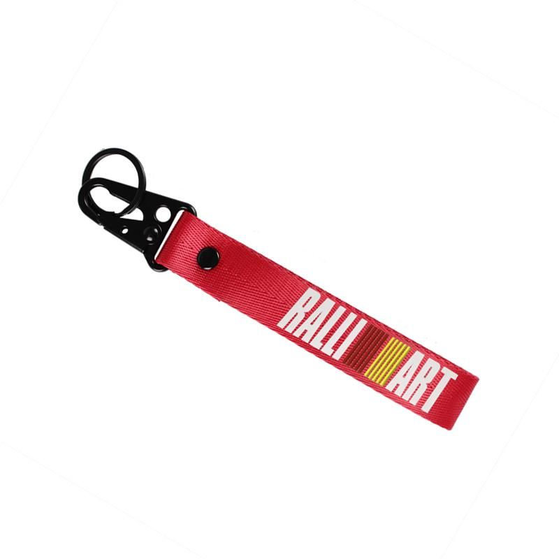 key chain for RALLIART Mitsubishi Short Lanyard