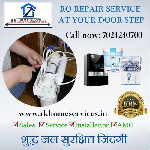 RO Service in Bhopal RK Home Services is best RO water purifier Repair and in Bhopal RK Home Services has been serving the Bhopal area with fast and efficient maintenance...