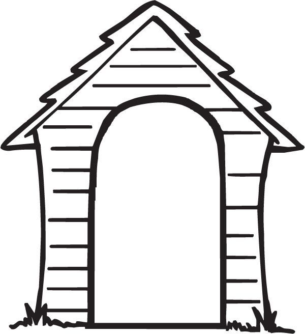 Dog House Clipart Clip Art Dog House Clip Art Library Cute