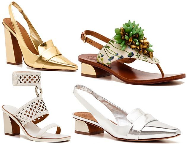 Footwear Trends Spring 2014 | The Tory Burch shoes and handbags spring/summer  2014 collection