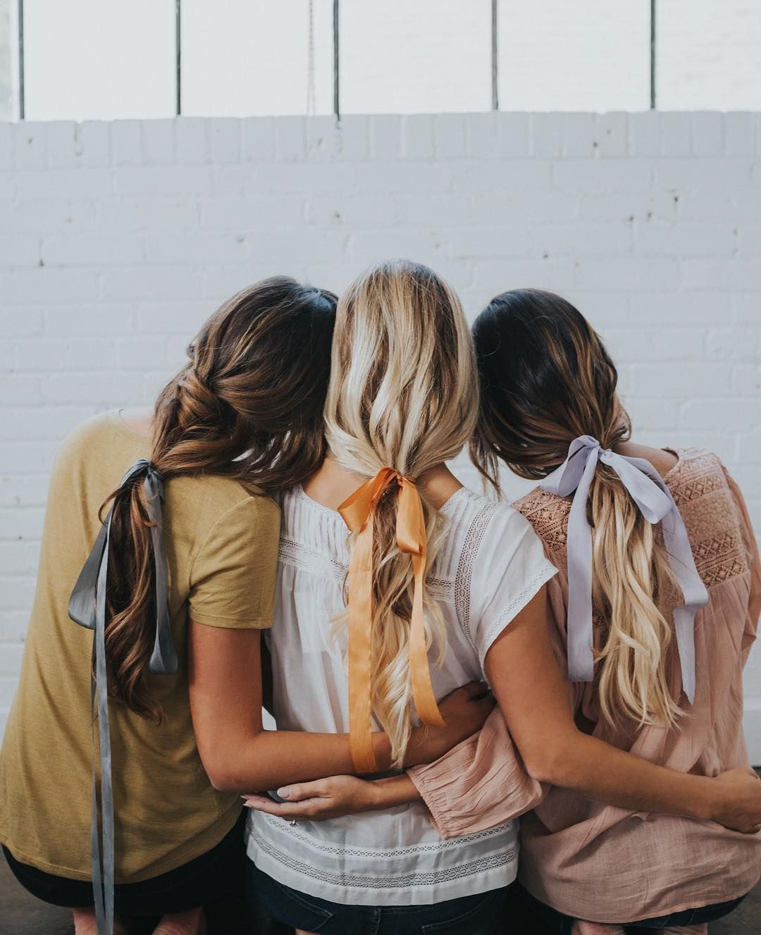 Satin hair bows hairstyle trends womenus hairstyles long