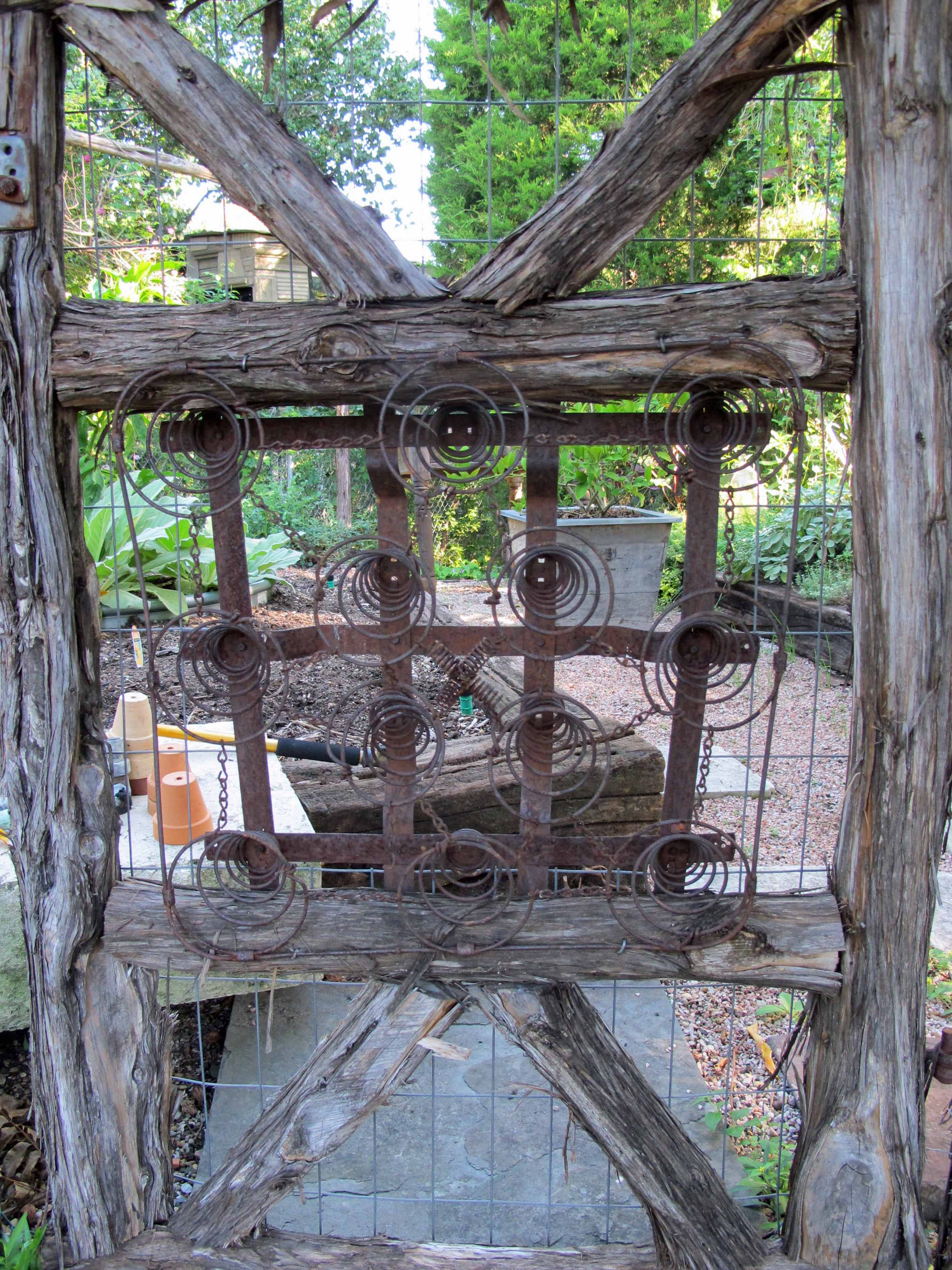 springs and logs gate | garden gate ideas | pinterest | wood gates