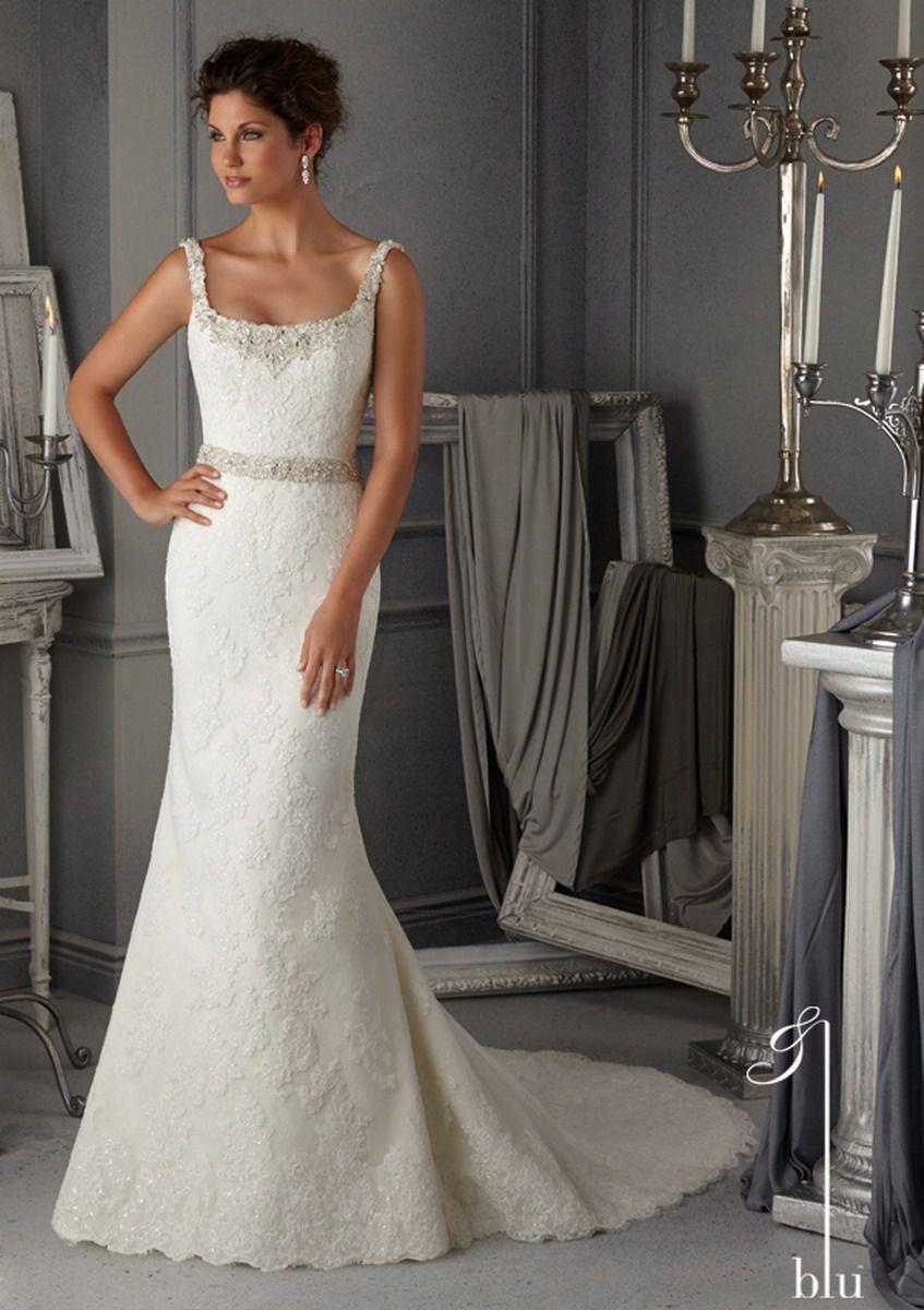 Blu by mori lee bridal gown style wedding dresses
